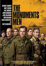 The Monuments Men (DVD, 2014, Includes Digital Copy UltraViolet) - NEW!!