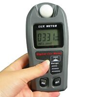 Leaton Digital Luxmeter / Digital Illuminance Light Meter Lux Meter With Lcd ...
