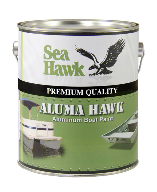 Aluma Hawk Boat Paint, Jon Boat Green, Gallon