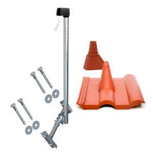 Dachsparrenhalter-1-2m-Mast-SAT-LTE-Dach-Halter-Sparrenhalter-Frankfurter-Pfanne