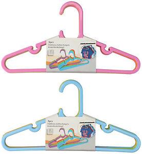 Neu-24-Stueck-Kinder-Kleiderbuegel-in-versch-Farben-Baby-Schrank-Waesche-Buegel