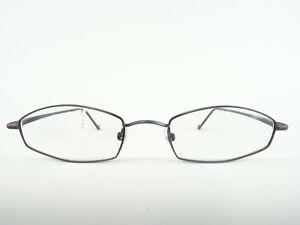 Glasses-Men-039-s-Glasses-Blue-Grey-Metal-Version-Glasses-Frames-Narrow-Cheap-Size-M