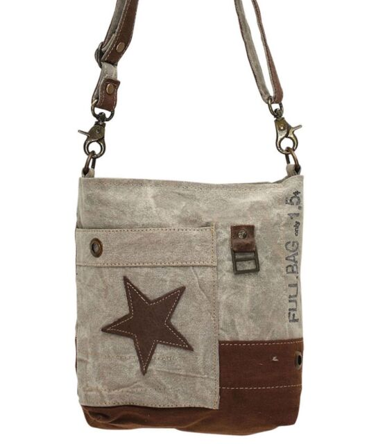 Leather Star Purse