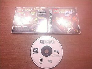 Sony-PlayStation-1-PS1-PSOne-CIB-Complete-Tested-LEGO-Rock-Raiders-Ships-Fast
