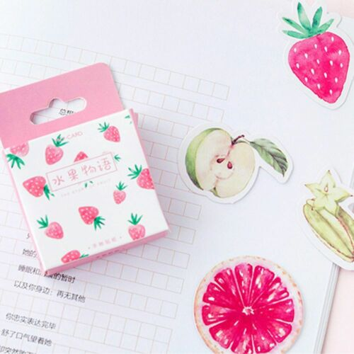 New Fresh Fruit Paper Sticker Decor DIY Craft Diary Scrapbooking Planner Label