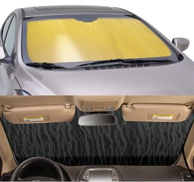 CUSTOM Precision Cut GOLD Sun Shade for windshield Audi A-F