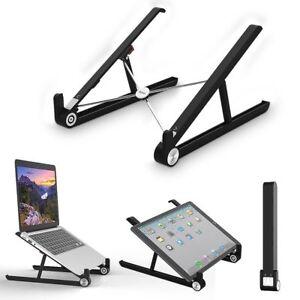 Laptop-Staender-Faltbarer-Tragbar-Desktop-MacBook-Tablet-Notebook-PC-Halter-Stand