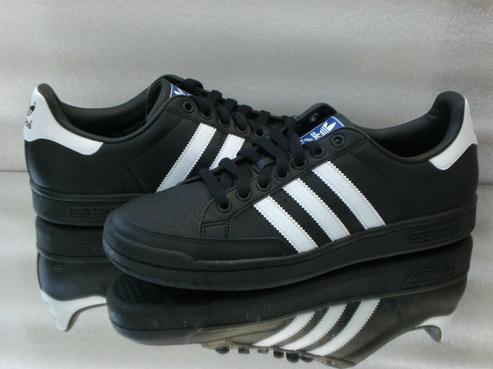 Adidas Originals tenis pro Hombre cañónzapatillas de deporte cortos Hombre pro Negro/Blanco q22930 nuevo 921ff6