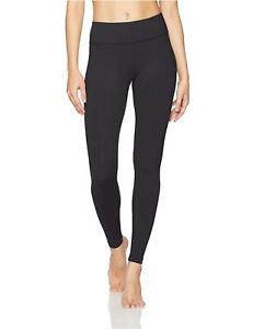 Danskin-Women-039-s-Signature-Wide-Waist-Yoga-Ankle-Rich-Black-Size-Medium-XPAt