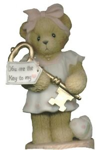 CHERISHED-TEDDIES-JOSETTE-Girl-With-Gold-Key-Abbey-Press-Excl-2000-Retd