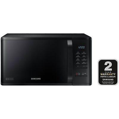 Samsung MS23K3513AK 23L 800W Standard Microwave - Black