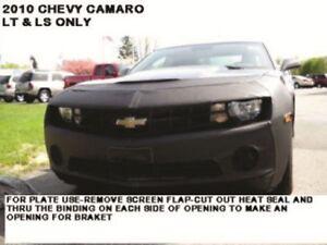 Lebra Front End Mask Cover Bra Fits 2010 2011 2012 2013 Chevy Camaro LT & LS