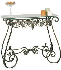 2564BR - Metal Console Table