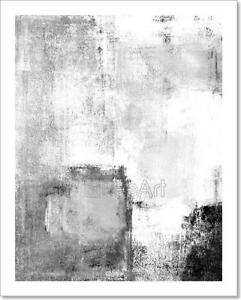 Black And White Abstract Art Art Print Home Decor Wall Art Poster - C
