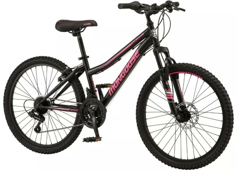 🔥Mongoose Excursion Mountain Bike, Girls, Female, 24