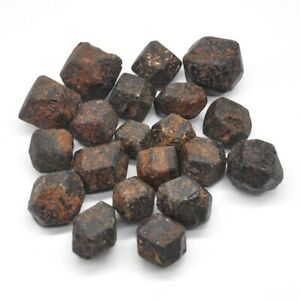 1-2lb-Natural-Red-Garnet-Stone-Bulk-Tumbled-Stone-Reiki-Crystal-Healing-Mineral