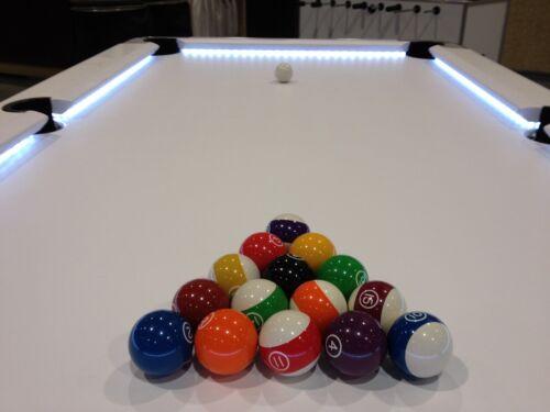 Good LED Pool U0026amp; Billiard Table Lighting KIT   Light Your Pool Table Felt    BRIGHT