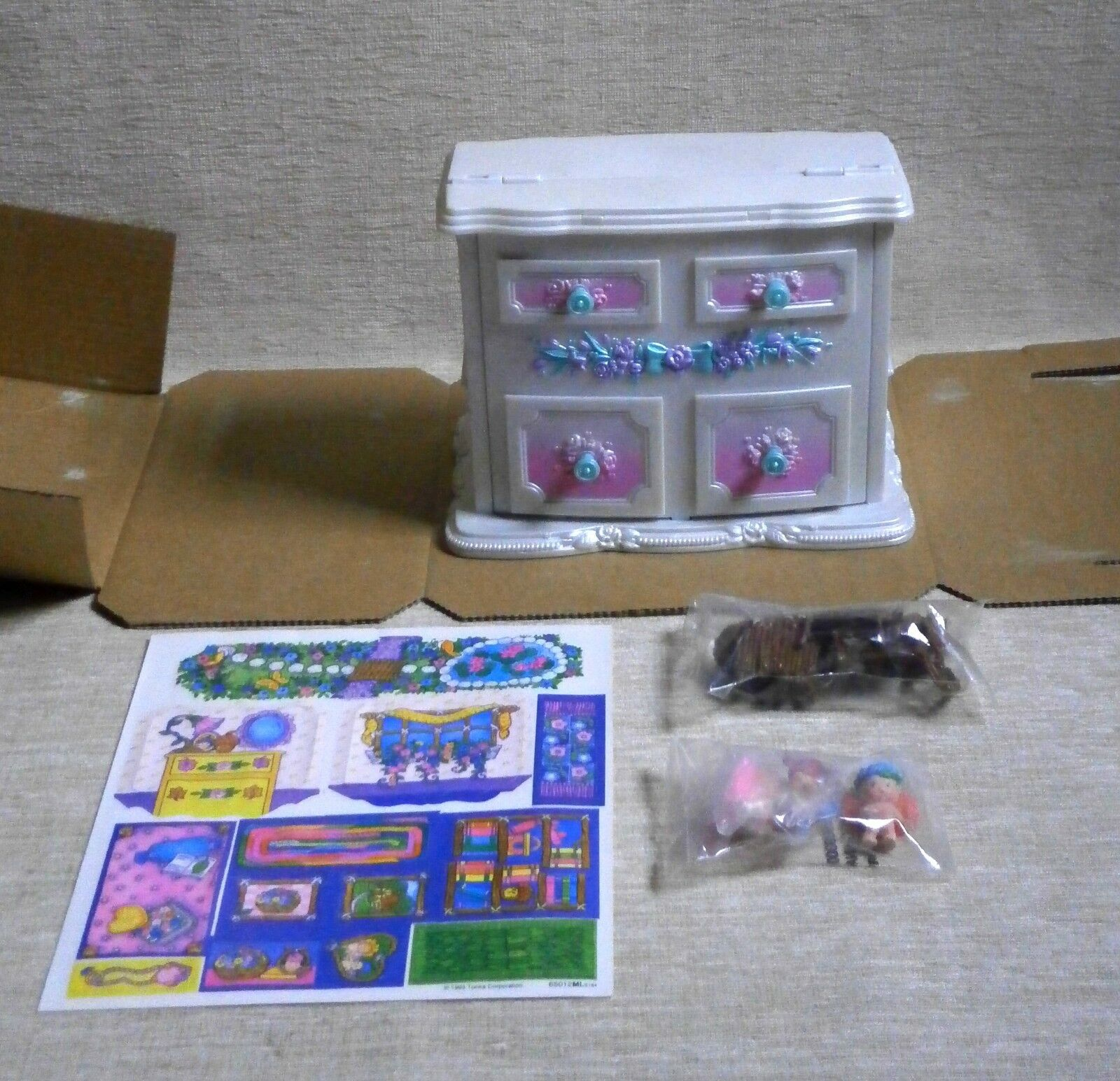 Fairy Winkles  FAIRY HIDEAWAY HOME HOME HOME  NIB KENNER 1994 SECRET TREASURE JEWELRY BOX 80b6ba