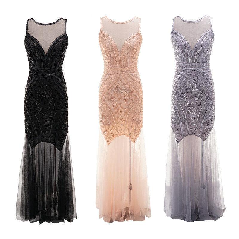 1920s Flapper Dress Great Gatsby Costume Sequins Fancy Fringe Dresses Plus Size