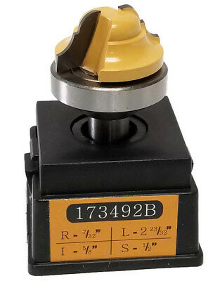 "Sommerfeld Tools 723812 Cove Router Bit R 1//2/"" L 2-9//16/"" I 5//8/"" S 1//2/"""