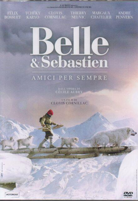 BELLE E & SEBASTIEN AMICI PER SEMPRE - DVD NUOVO