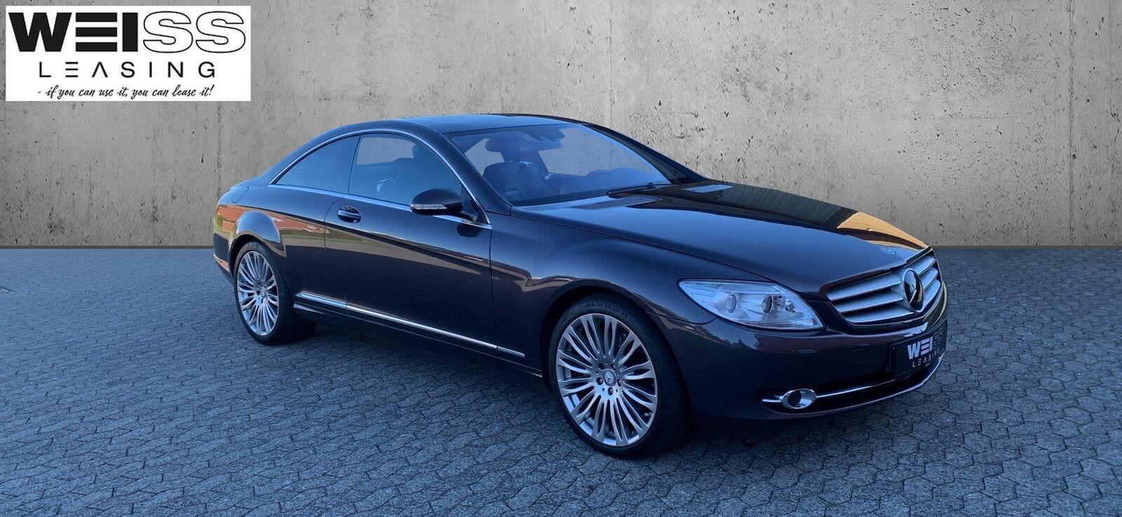 Mercedes CL500 5,5 V8 aut. 2d - 1.990 kr.