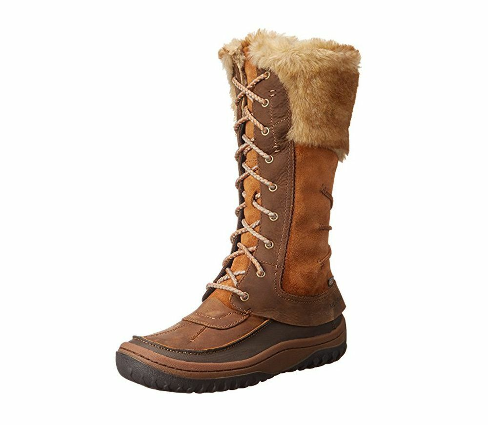 Merrell Mujer Decora Prelude Cuero Impermeable botas botas botas De Invierno  a precios asequibles