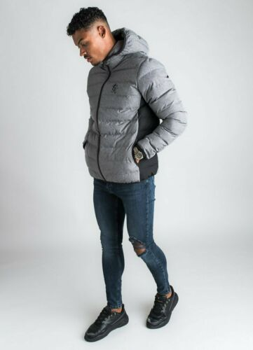 Gym King Anthracite Chiné Core Puffa Veste-CJK-1717
