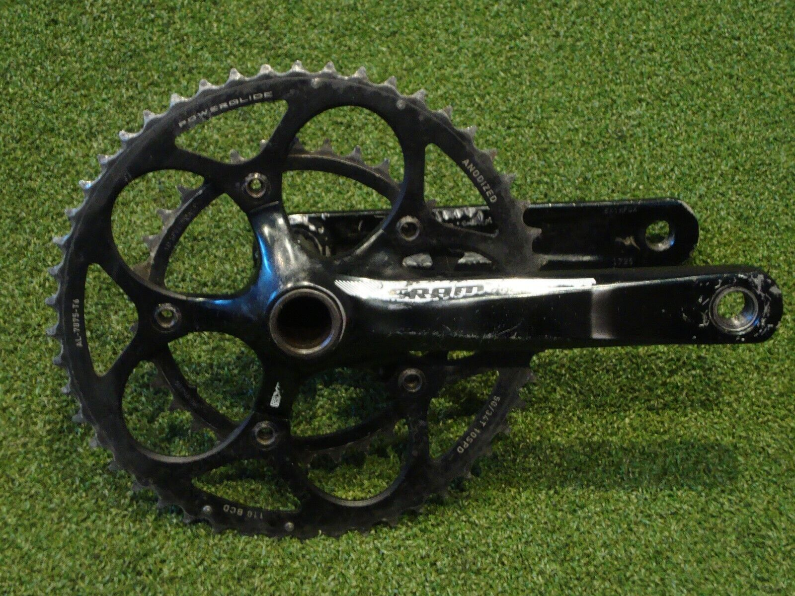 Sram Apex Compact 50 34 Road Bike Cycling Chainset Crankset 172.5 Cranks