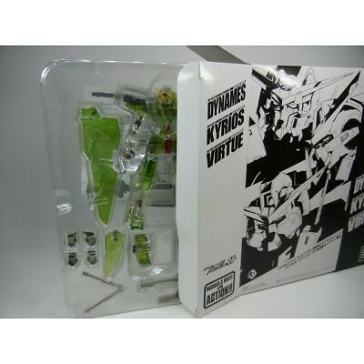 """MSIA Books Limited Gundam OO """" GN-002 GUNDAM DYNAMES Clear ver. """" Figure Bandai"""