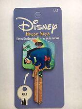 Eeyore House Key Blank UL1 Licensed Disney Key