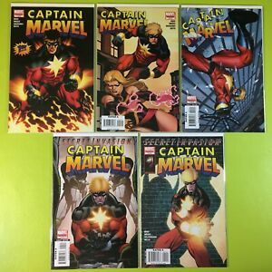 2007-Captain-Marvel-1-2-3-4-5-Limited-Series-6-Complete-Set-Reed-Marvel-NM-9-4