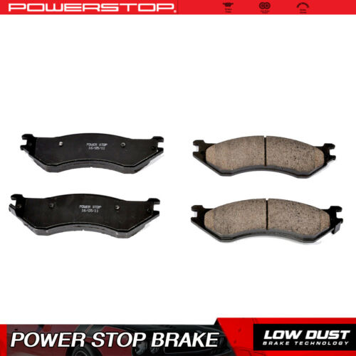 Power Stop Front Clean Ceramic Brake Pads For 1997-2002 Ford Expedition