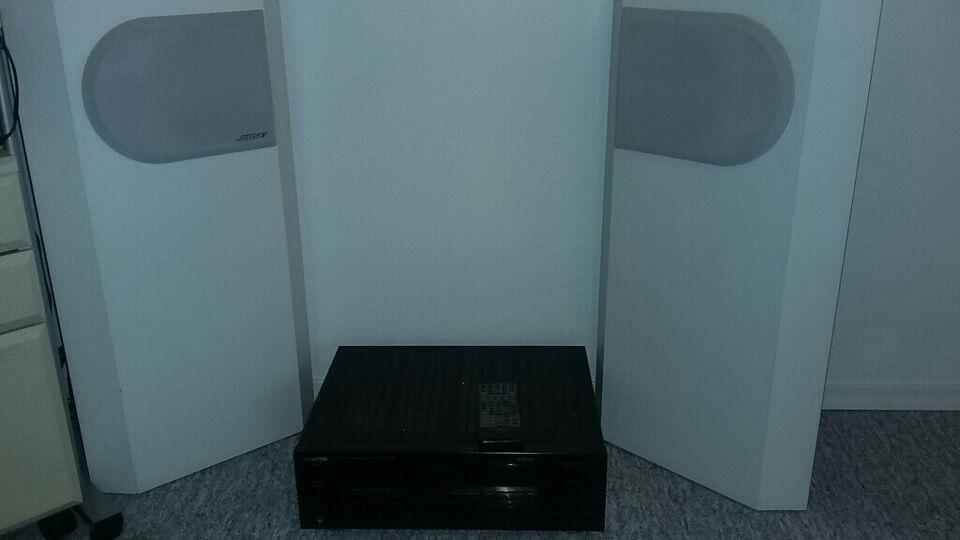 Kenwood KR-V7030/Bose 401, Perfekt
