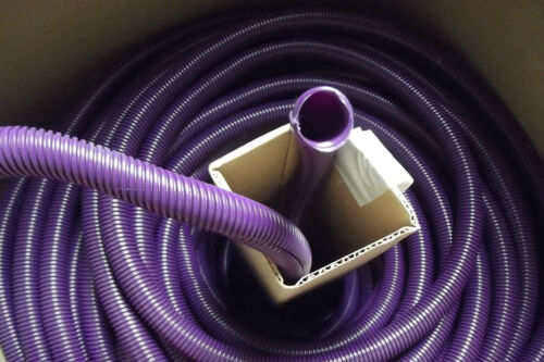 "25  FT 3//4/"" ID,PURPLE SPLIT LOOM,WIRE COVERING  .9.8."
