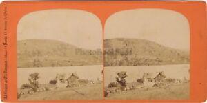 Villa Monplaisir Lac Gérardmer Foto Braun Stereo Vintage Albumina Ca 1865