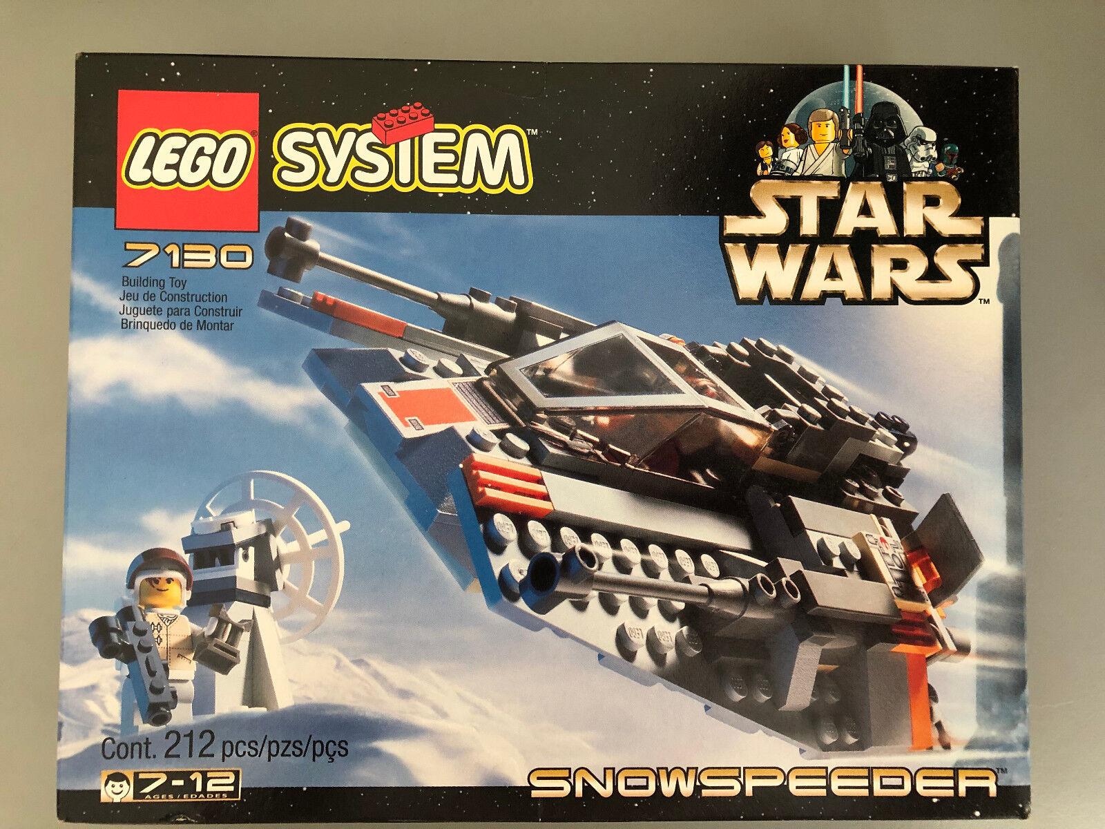 LEGO  7130 estrella guerras Snowspeeder  nuovo   Factory Sealed  Retirosso  prezzo all'ingrosso e qualità affidabile