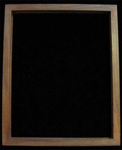 Vintage Decorative 10.5 x 8.5 Real Teak Wooden Picture Frame Slide-top Thailand