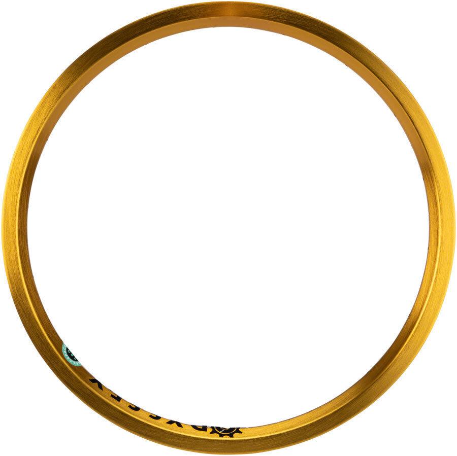 Odyssey Tecnología Aeroespacial Llanta 20& ; Anodizado oro