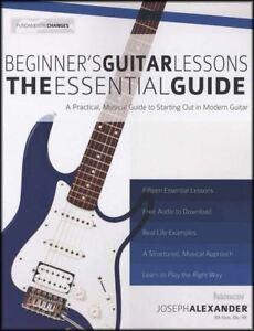 Beginner's Guitar Lessons Le Guide Essentiel Tab Music Book With Audio-afficher Le Titre D'origine