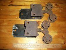 Vtg TOP ROLLER Assembly POCKET DOOR ROLLERS Architectural Hardware SINGLE