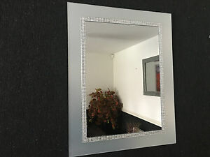 SILVER-DIAMANTE-WALL-MIRROR-FROSTED-GLASS-LOOK-DRESSING-BATHROOM-WALL-MIRROR