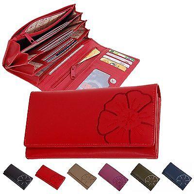 Branco Damen Geldbörse Leder Damenbörse Portemonnaie Geldbeutel Börse 29918 neu