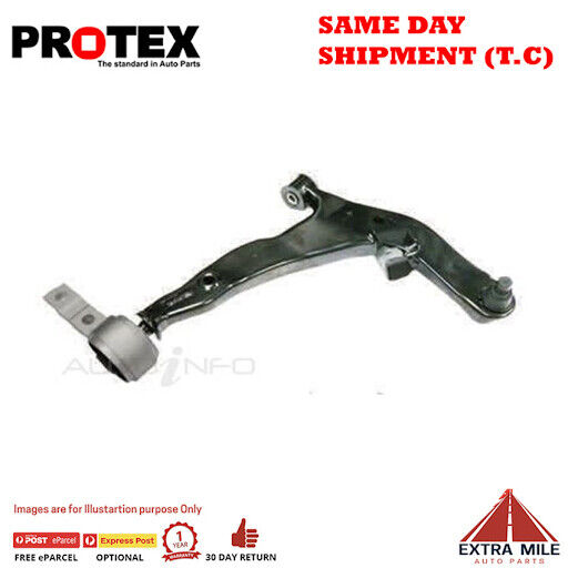 Protex Control Arm - Front Lower For NISSAN MURANO Z51 4D SUV 4WD 2009 - 2016