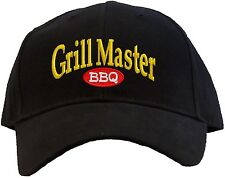 12b32430cad Grill Master Embroidered Baseball Cap - Available in 7 Colors - Hat BBQ