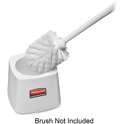 rubbermaid toilet bowl brush holder, white 86876007220 | ebay