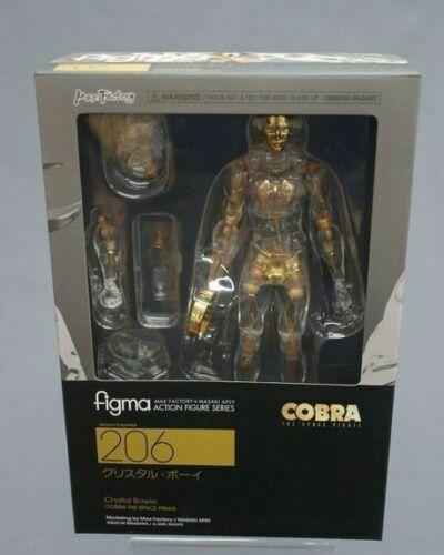 Cobra The Space Pirate  Figma 206 Crystal Bowie Boy Max Factory Japan nouveau   économiser jusqu'à 50%