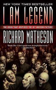 I-Am-Legend-a-paperback-book-by-Richard-Matheson-FREE-SHIPPING-vampire-novel