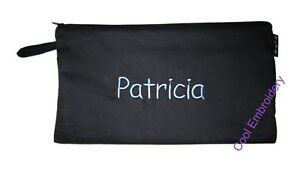 Personalised-Large1-Drill-pencil-case-31cm-by-17cm-pouch-bag-COLOUR-CHOICE