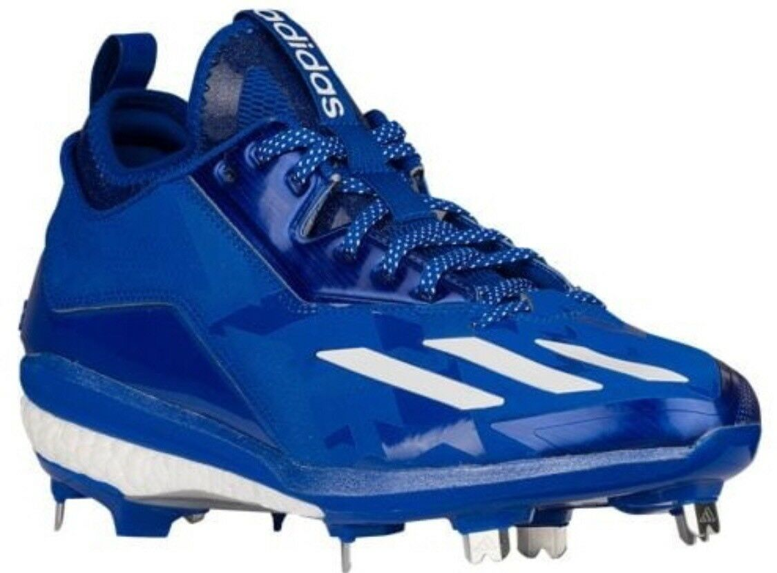 Adidas Energy Boost Icon 2 Cleats blueee White B72825 Men's 12.5 New